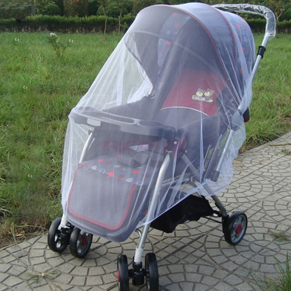 Baby Stroller Mosquito Net Fly Midge Insect Bug Cover
