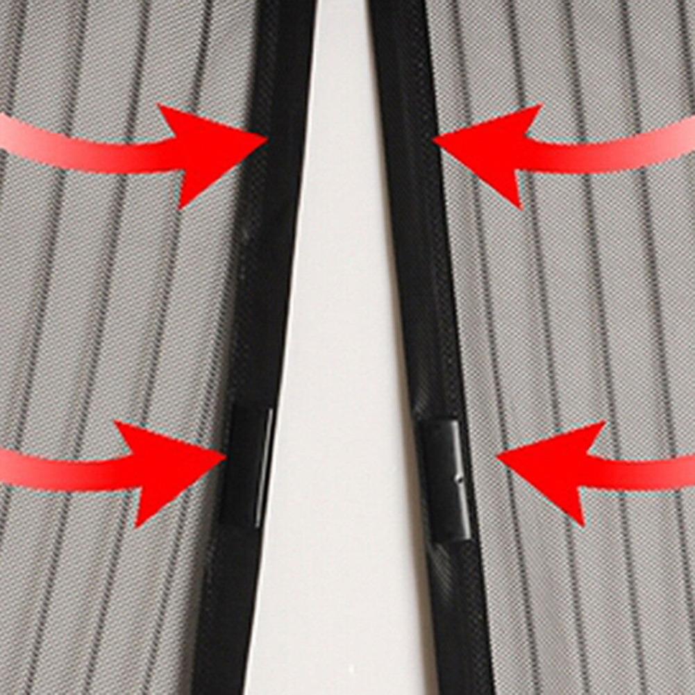 Magnetic Door Screen Net Insect Sandfly Door Curtain Mesh