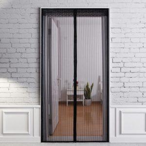 Magnetic Door Screen Net Insect Sandfly Door Curtain Mesh & Door Screen Net Window Screen Mosquito Net Curtain - Moski Net