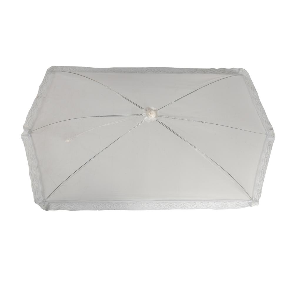 Jumbo Mesh Food Cover Tent Umbrella Style Anti Bugs