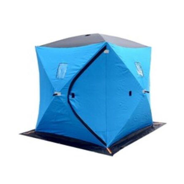 Pop Up Fishing Shelter : Ice cube fishing tent blind hunting shelter for people